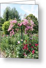 Monets Garden - Giverney - France Greeting Card