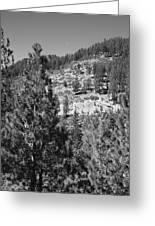 Mountainside Near Lake Tahoe Greeting Card