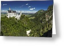Neuschwanstein Greeting Card