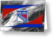 New York Rangers Greeting Card