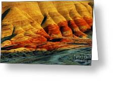 Painted Hills - Oregon Greeting Card