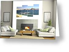 4-panel - Lake Powell Marina Greeting Card