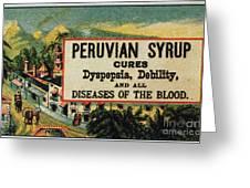 Patent Medicine Greeting Card