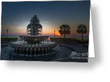 Charleston Sunrise  Greeting Card