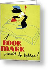 Poster Books, C1938 Greeting Card