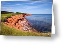 Prince Edward Island Coastline Greeting Card