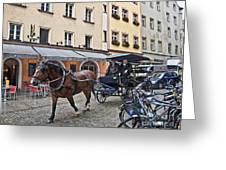Regensburg Germany Greeting Card
