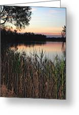 River Murray Sunset Series 1 Greeting Card