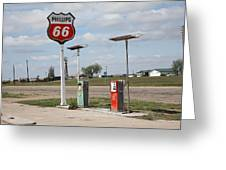 Route 66 - Adrian Texas Greeting Card