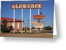 Route 66 - Santa Rosa New Mexico Greeting Card