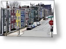 Saint John's. Newfoundland. Greeting Card