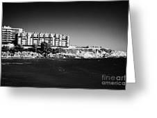 Salou Waterfront Properties On The Costa Dorada Catalonia Spain Greeting Card
