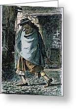 Samuel Pepys (1633-1703) Greeting Card