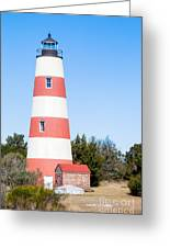 Sapelo Island Lighthouse Sapelo Island Georgia Greeting Card