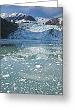 Scenic View Of Stairway Glacier R Greeting Card