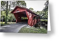 Shelby Covered Bridge Greeting Card