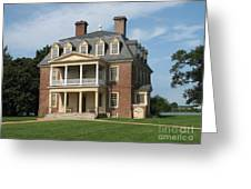 Shirley Plantation Greeting Card