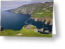 Slieve League Cliffs, Ireland Greeting Card
