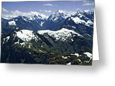 South Pacific, New Zealand, South Island Greeting Card