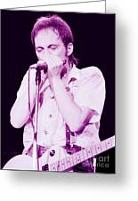 Steve Marriott - Humble Pie At The Cow Palace S F 5-16-80 Greeting Card