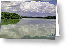 4-summer Time At Moraine View State Park Greeting Card