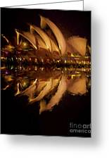 Sydney Opera House Abstract Greeting Card