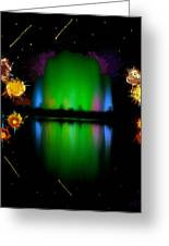 The Electric Fountain Greeting Card