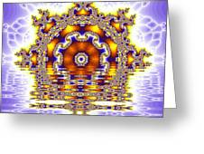 The Kaleidoscope Reflections Greeting Card
