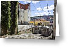 The Lavra Funicular Greeting Card