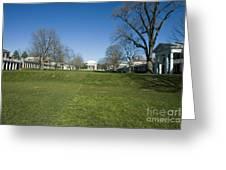 The Rotunda On The Lawn Greeting Card