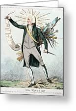 Thomas Paine (1737-1809) Greeting Card
