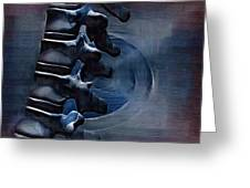 Thoracic Spine Greeting Card