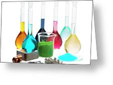 Transition Elements And Their Salts Greeting Card