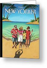 New Yorker July 23rd, 2012 Greeting Card