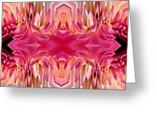 Valley Porcupine Abstract Greeting Card