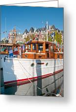 Victoria Wooden Boat Show Greeting Card