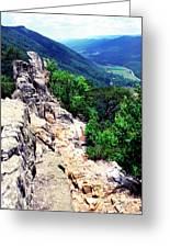 View From Atop Seneca Rocks Greeting Card by Thomas R Fletcher