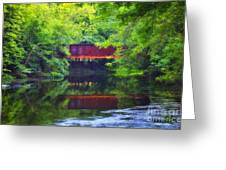 Washingtonville Ny Greeting Card