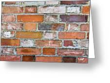 Weathered Wall Greeting Card
