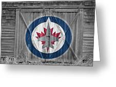 Winnipeg Jets Greeting Card