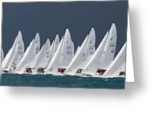 All Sail Greeting Card