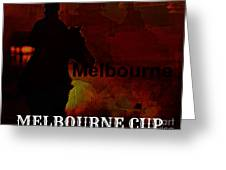 Melbourne Cup Greeting Card