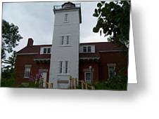 40 Mile Point Lighthouse Greeting Card