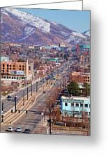 400 S Salt Lake City Greeting Card