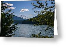 40620-3 Detroit Lake And Mt Jefferson Greeting Card