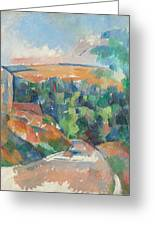 The Bend In The Road Greeting Card