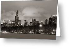 Central Park Winter Greeting Card
