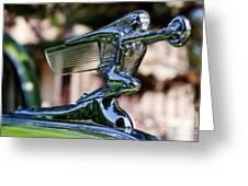41 Packard Badge Greeting Card