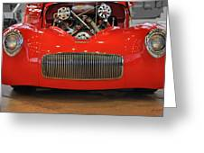 '41 Willy's Coupe Street Rod Greeting Card