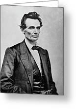 Abraham Lincoln (1809-1865) Greeting Card